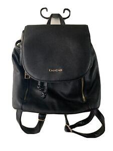 Bebe Women's Black Mini Backpack NICE!!