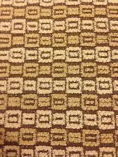 """Maxwell FabricsTextured Sample LINKS PEANUT BUTTER 18"""" x 16.75"""" Make a pillow!"""