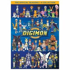 Digimon: Digital Monsters - The Complete Seasons 1-4 Collection 32-DISC DVD Set