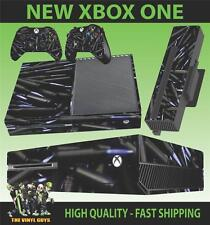 XBOX ONE CONSOLE STICKER BLACK BULLETS SHELLS AMMO  SKIN & 2 PAD SKINS