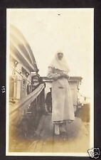UKRAINE RUSSIA NUN IN KIEV 1917 AMERICAN PHOTO