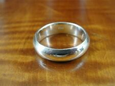 Silver 925 Ring Size 9 Band Simple Wider Design Sterling