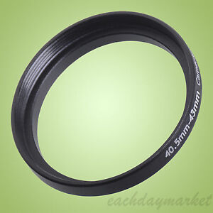 40.5mm to 43mm 40.5-43 mm Stepping Step Up Lens Filter Ring Adapter 40.5mm-43mm