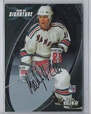02-03 2002-03 BE A PLAYER SIGNATURE SERIES BOBBY HOLIK AUTO BAP 174 RANGERS