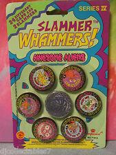 "Slammer Whammers! Series IV ""Awesome Aliens""  24 Caps / 2 Slammers"