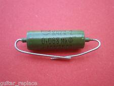 Condensador 0.068 uF 250V Capacitor Aceite Paper In Oil PIO NOS  Caps