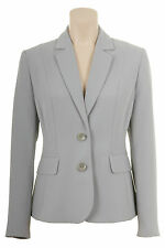 Busy Ladies Silver Grey Suit Jacket