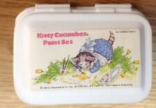 "Rare ""Kitty Cucumber Mini Water Color Paint Box"