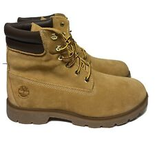 "Timberland Women Waterproof Premium 6"" Boots Primaloft Insulated Tan Nubuck 11"