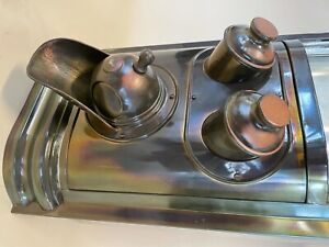 Brass coffee bean dispenser year 1900-1904 Antique.
