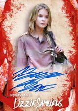 The Walking Dead Survival Box Autograph Card Brighton Sharbino As Lizzie