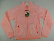 The North Face Mas Print Bomber Neon Peach Training Jacket Size Womens XS
