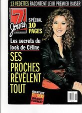 Celine Dion Rare 7 Jours Magazine Volume 10 April 1999 + Free Celine Gift