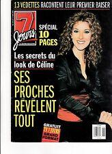CELINE DION  RARE 7 JOURS MAGAZINE VOLUME 10 APRIL 1999