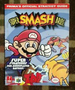 Super Smash Bros. Prima's Official Strategy Game Guide Nintendo 64