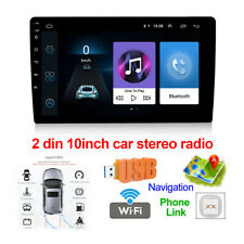 """10"""" 2Din Android 9.1 Car Stereo Radio GPSVideo Player GPS Quad-core Touch Screen"""