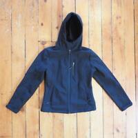 Womens CB Sport Softshell Jacket S Small Full Zip Black Ski Walking