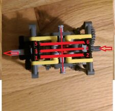 LEGO Technic 6 Speed Transmission Gearbox - car truck NXT EV3 - new parts