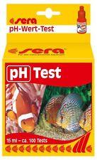 sera pH-Test - Tröpfchentest für Süß- & Meerwasser (1 x 15 ml für ca. 100 Tests)