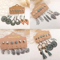 Festival Tribal Long Boho Ear Hook Earrings Jewellery Drop Dangle Ethnic Tassel
