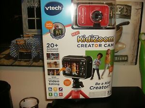VTech KidiZoom Creator Cam HD Video Kids' Digital Camera  NEW