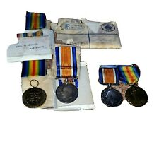 More details for 2 pairs of ww1  1914-1918  medals