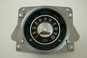 ★ 1966-77 EARLY FORD BRONCO DASH CLUSTER/GAUGES UNLEADED GAS D2BF-10876★