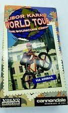 Libor Karas VHS Video Volvo Cannondale World Tour The Bouncing Czech Trials RARE