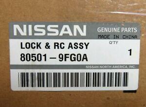 Genuine OEM Nissan 80501-9FG0A Driver Front Door Lock 04-13 Titan 04-08 Armada