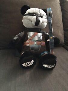 Build A Bear Star Wars The Mandalorian Mando Din Djarin Plush w/ Theme Song NWT