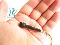 Smallest home security Color micro screw type mini Audio Video camera for TV DVR