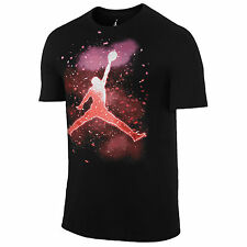NIKE Jordan Jumpman Celebration T-Shirt sz XL X-Large Black Infrared Purple 23