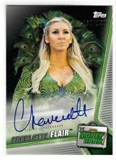 Charlotte Flair 2019 Topps WWE Money in the Bank Auto Redemption Card 103/199