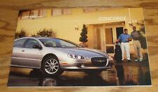Original 2004 Chrysler Concorde Deluxe Sales Brochure 04