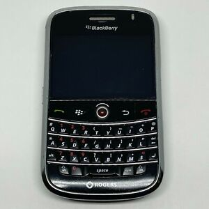 BlackBerry Bold 9000 - 1GB - Black (Unlocked) Smartphone Working