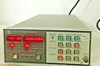 HP AGILENT 3437A SYSTEM VOLTMETER UNTESTED/PARTS/AS-IS