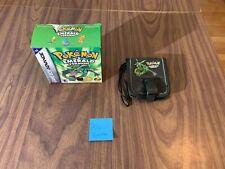 Pokemon Emerald (Nintendo GameBoy Advance) - Large / Big Box with carrying case