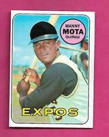 1969 TOPPS # 236 EXPOS MANNY MOTA NRMT CARD (INV# C5170)