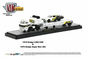 M2 Auto Haulers R32 '70 Dodge L600 & '70 Dodge Super Bee 383