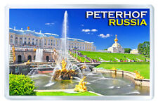 PETERHOF PALACE RUSSIA MOD2 FRIDGE MAGNET SOUVENIR IMAN NEVERA