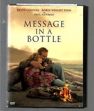MESSAGE IN A BOTTLE *KEVIN COSTNER ~ ROBIN WRIGHT ~ PAUL NEWMAN*  WIDESCREEN DVD