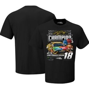 Kyle Busch 2019 M&M's Monster Energy Cup Champion Tee T-Shirt M-XL IN STOCK