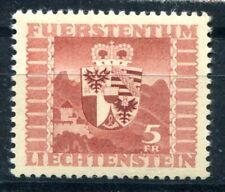 LIECHTENSTEIN 1947 252 ** POSTFRISCH TADELLOS(49392