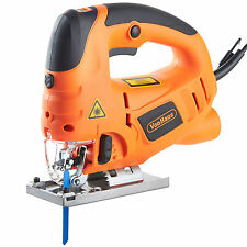 VonHaus 800W Pendulum Jigsaw Laser Guide Variable Speed Aluminium Base Blades