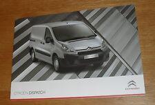 CITROEN Dispatch Van FOLLETO 2010-2011 - 1.6 HDI 2.0 HDI-L1 L2 + Xtr
