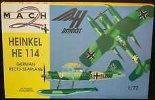 Mach 2 Models 1/72 HEINKEL He-114 German WWII Seaplane