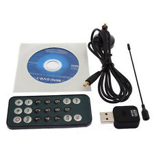 Mini DVB-T Digital USB2.0 TV HDTV Stick Tuner Receiver Recorder w/Antenna Remote