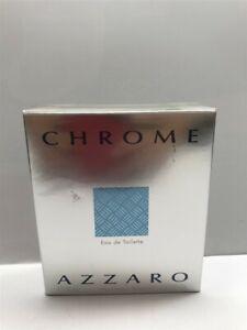 Chrome by Azzaro 1.7 oz/50 ml Eau de Toilette Spray for Men, Sealed!