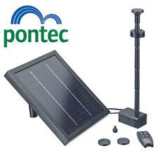Pontec PondoSolar Solar Pond Fountain Pump & LED Lighting 250 & Remote Control