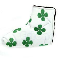 Clover Golf Putter Head Cover Headcover For Taylormade Ping Callaway White c